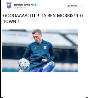 Morris 1-0