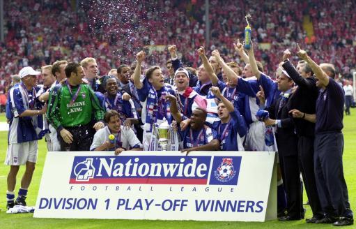 Ipswich beat Barnsley celebrations