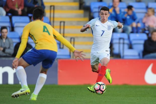 England U18 v Brazil U18 - International Match